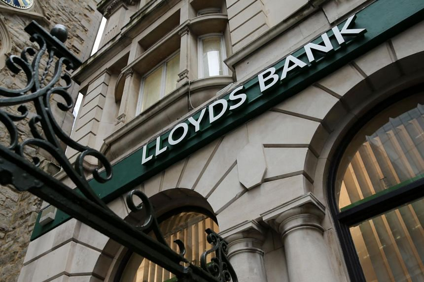 Lloyds Banking Group Plc's profit had been wiped out by a 2.4 billion-pound provision.