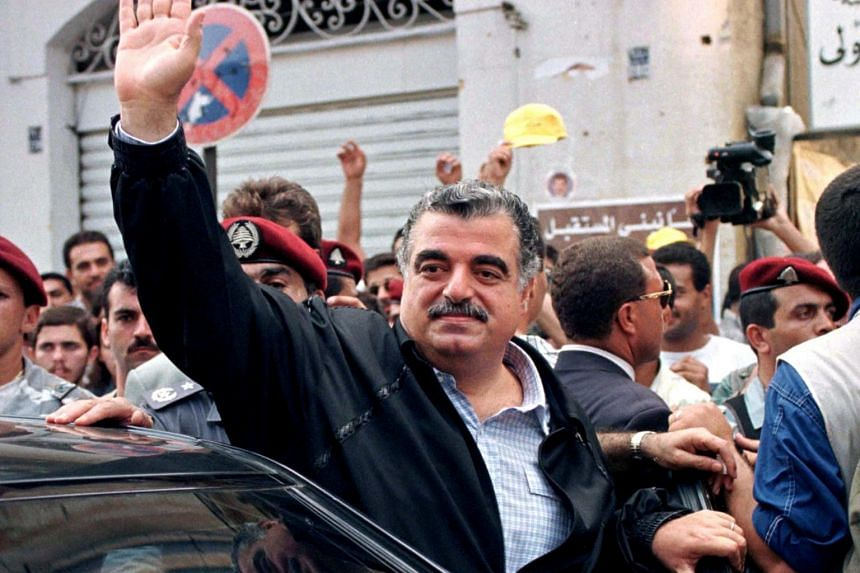 Lebanon's former prime minister Rafik al-Hariri was assassinated in a 2005 bombing.