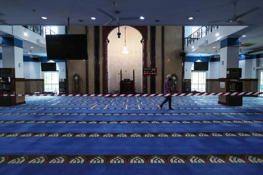 Masjid Al-Istighfar is one of four mosques either adding additional entry or exit points or having staggered entrance and exit timings.
