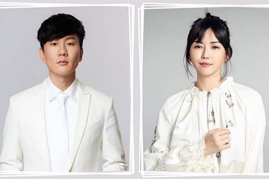 Singers JJ Lin (left) and Stefanie Sun will perform during the parade's evening show at The Star Performing Arts Centre.