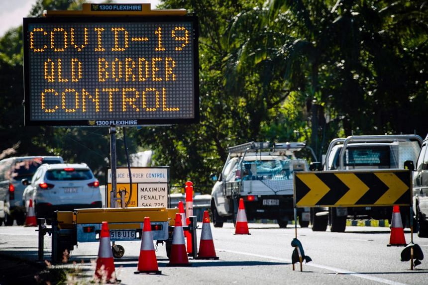 Queensland Premier Annastacia Palaszczuk, who has already shut her north-eastern state's border to Victorians, said travellers from New South Wales and the capital Canberra  would also be barred from Aug 8.