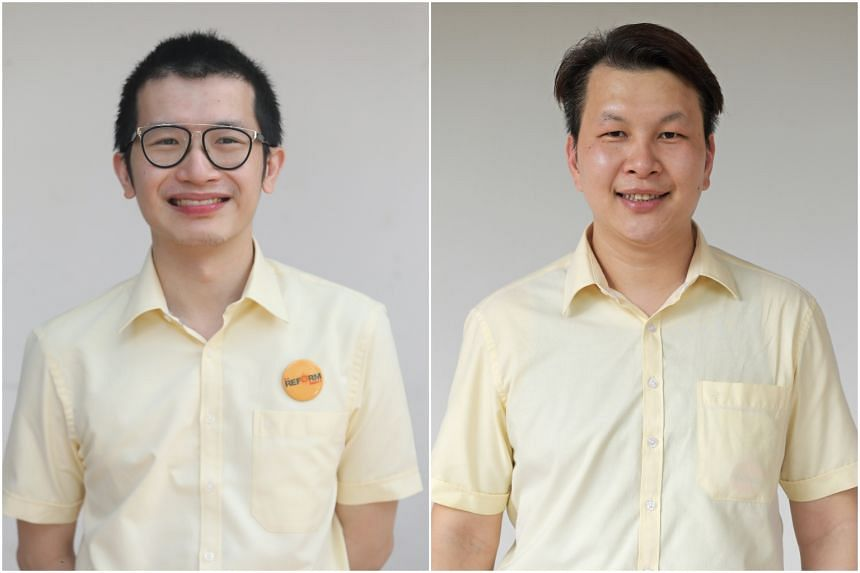 Criminal defence lawyer Charles Yeo (left) will be replacing outgoing chairman Andy Zhu.