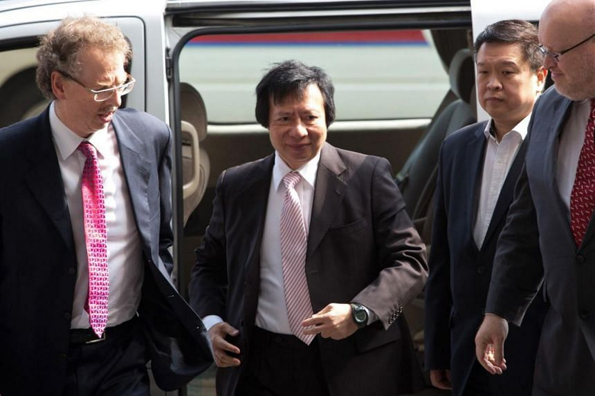Mr Thomas Kwok recently returned to a company subsidiary after serving time in jail on a corruption sentence.
