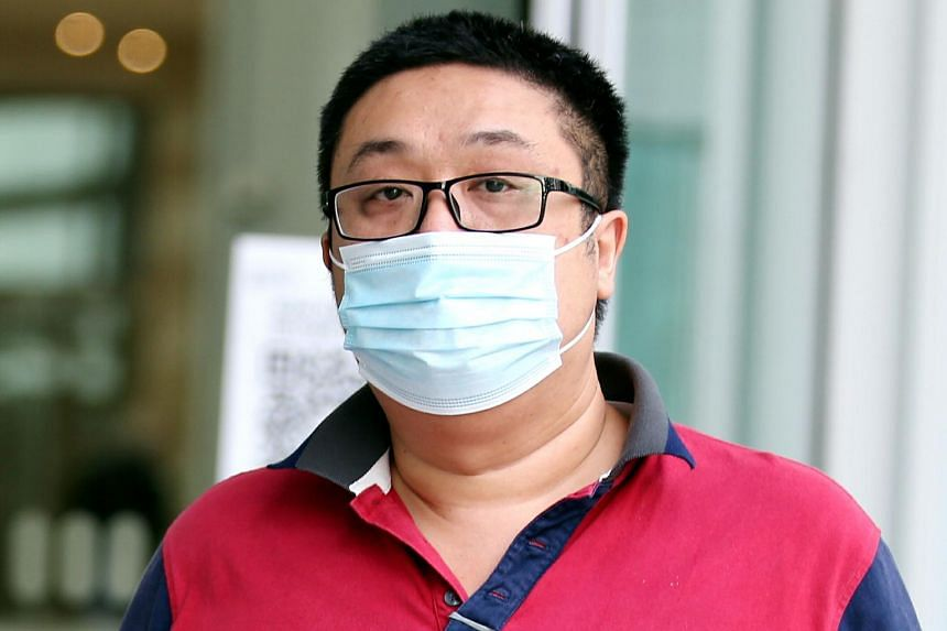 Phua Meng Wee, 44, was also charged with using criminal force on the cleaner.