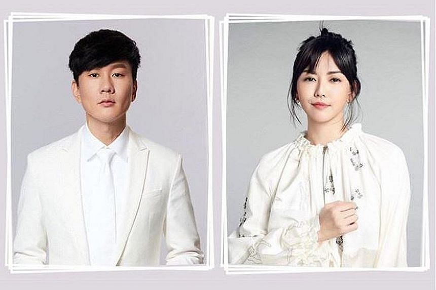 Home-grown singers JJ Lin and Stefanie Sun will perform the song Stay With You at the National Day Parade's evening show on Sunday.