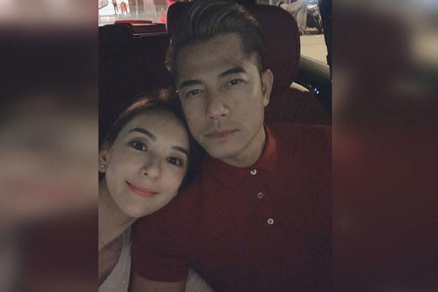 Aaron Kwok Wife Moka Fang