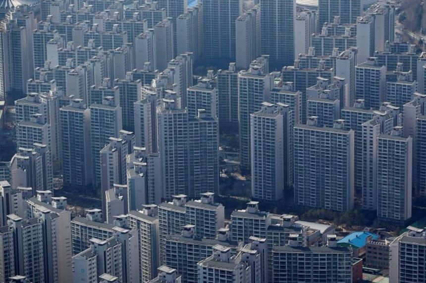 Despite more than 20 cooling policies introduced by President Moon Jae-in's government, home prices in Seoul have risen more than 50 per cent since 2017.