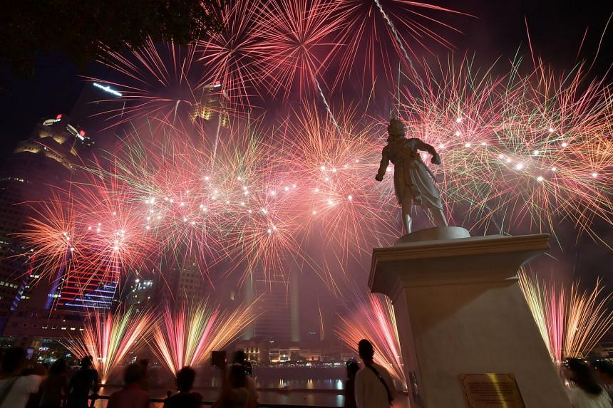 The fireworks will have an effective visible range of 1km to 8km and will burst at a height between 15 and 62 stories.