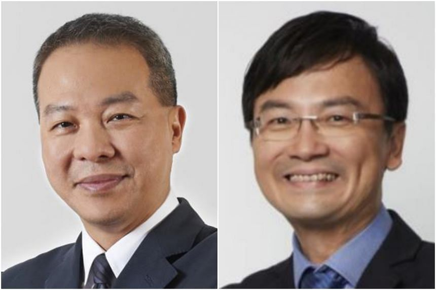 Current JTC chief Ng Lang (left) will replace Ngien Hoon Ping.