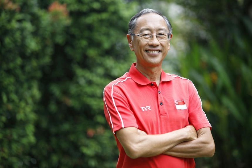 Singapore Swimming Association president Lee Kok Choy in a 2018 photo.