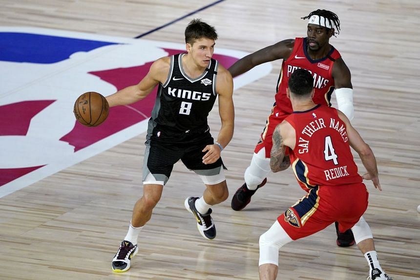 Bogdanovic's career-high 35 lead Kings past Pelicans