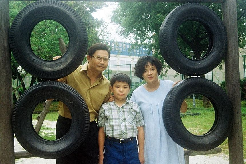 My Buddha Is Punk spotlights issues such as minority oppression and political freedom. (From far left) Chen Tianwen, Koh Jia Ler and Yeo Yann Yann star in family drama Ilo Ilo.