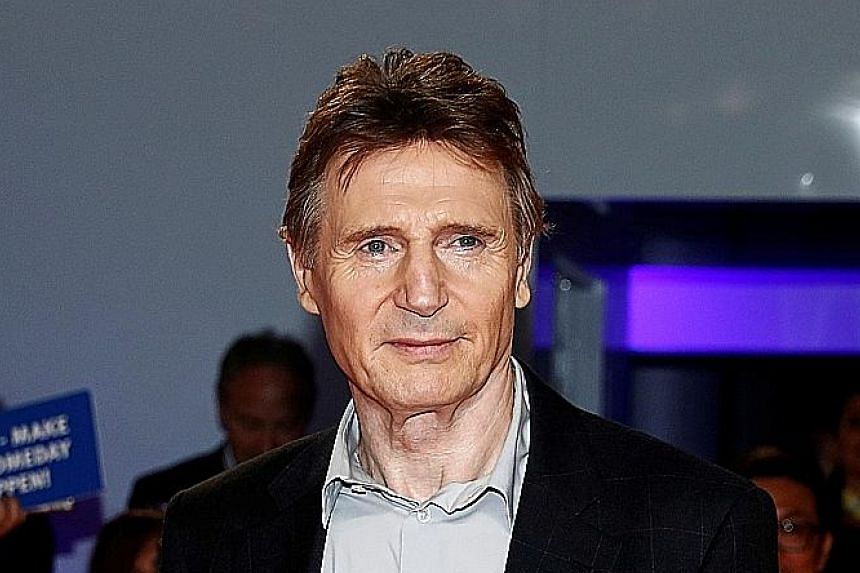 Liam Neeson (above) suggested his son, Micheal, be cast in Made In Italy with him.
