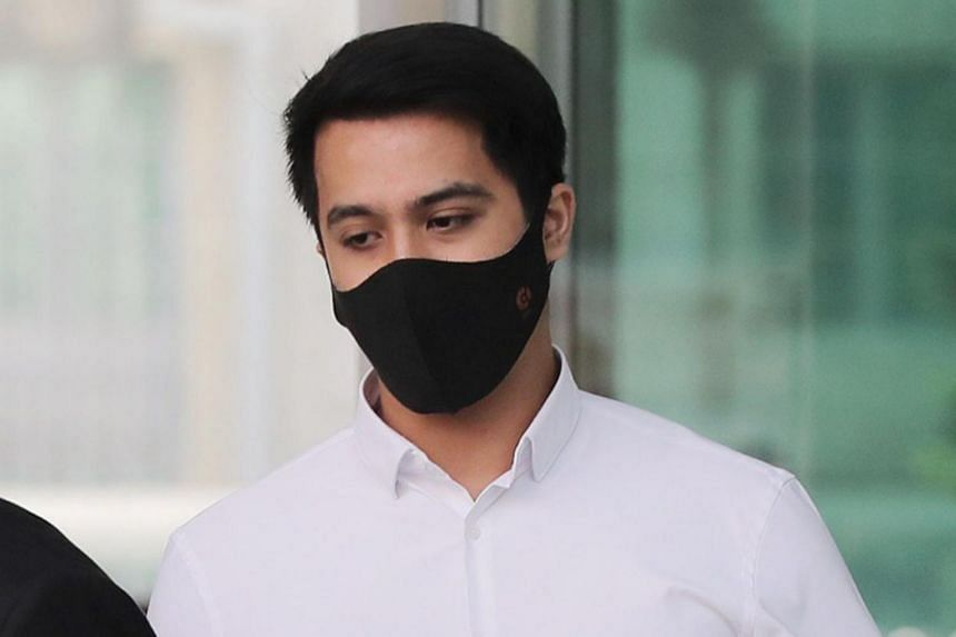 Actor-singer Aliff Aziz stole cash from an Indonesian actress in June 2019 and was caught shouting and gesticulating wildly in Orchard Road in Nov 2019.