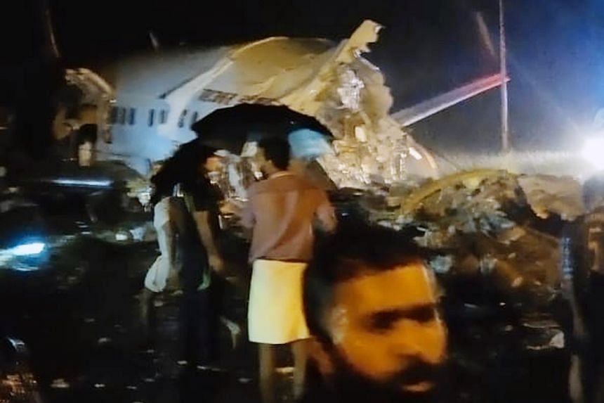 Air India plane crash lands in Kerala, splits into two; several injured