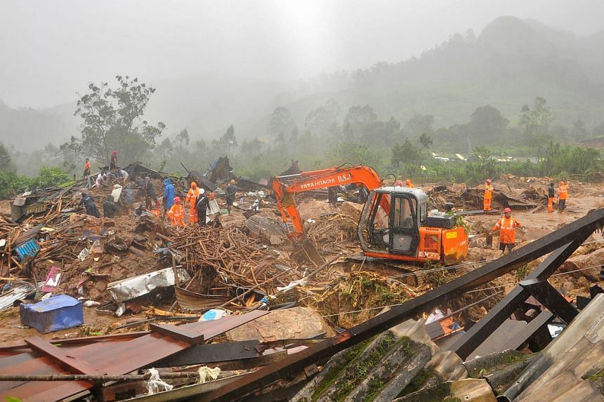 The landslide hit in the early hours on Aug 7 in Idukki district, in the southern state of Kerala.