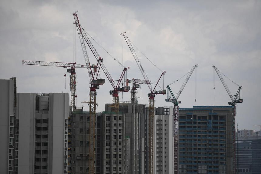 Relevant agencies like the Building and Construction Authority are mindful of the difficulties faced by developers and contractors, said Mr Lawrence Wong.