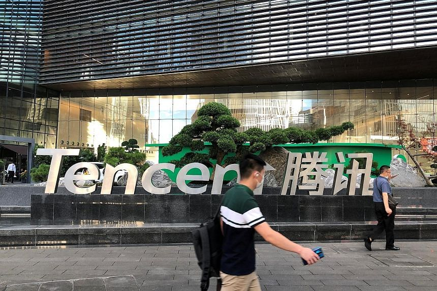 Tencent's corporate headquarters in Shenzhen, Guangdong province. Before yesterday's drop, Tencent was worth US$686 billion, making it the world's eighth-largest company by market capitalisation.