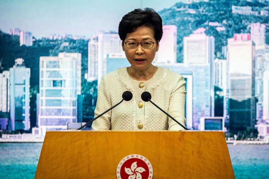 Hong Kong chief executive Carrie Lam has said it would be pragmatic to extend the term of the current legislature.