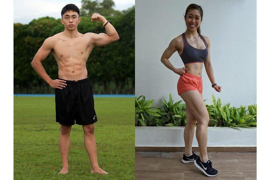 Reuben Sia (left) and Vanessa Png