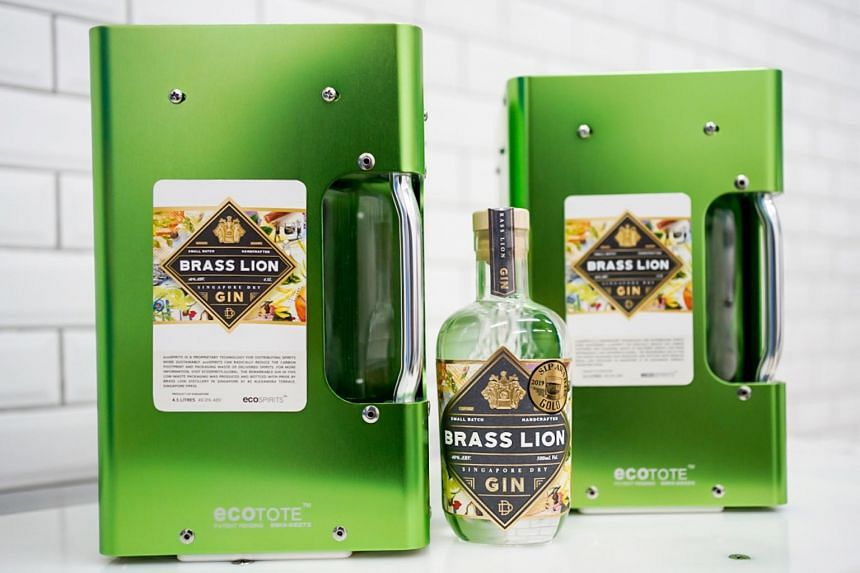 From August, Brass Lion's flagship Singapore Dry Gin is also part of Proof & Co's EcoSpirits platform.