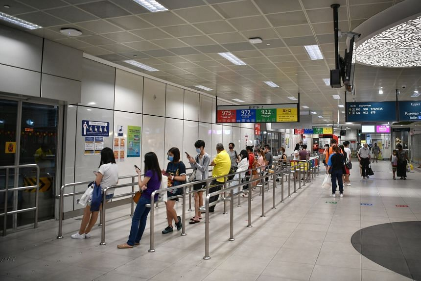 A new cluster emerged at Bukit Panjang Integrated Transport Hub in July.