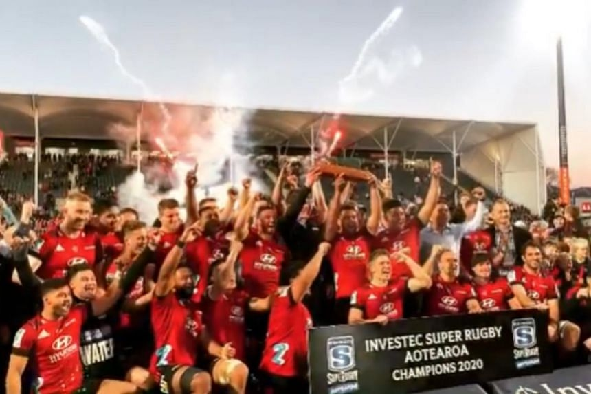 Canterbury Crusaders won 3 Super Rugby titles in a row before the coronavirus crushed this year's competition.