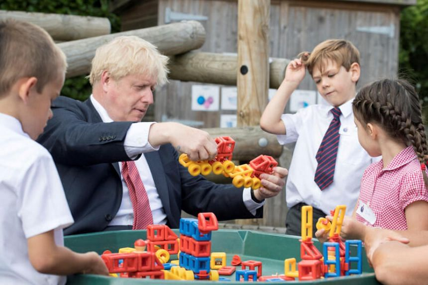 British Prime Minister Boris Johnson said reopening schools was a social, economic and moral imperative.