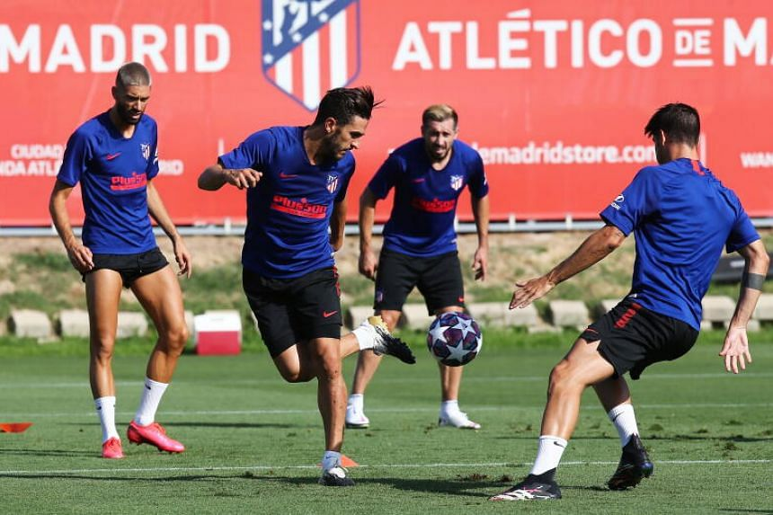 Football Atletico Resume Training After Rest Of Squad Test Negative Ahead Of Champions League Quarter Finals Football News Top Stories The Straits Times