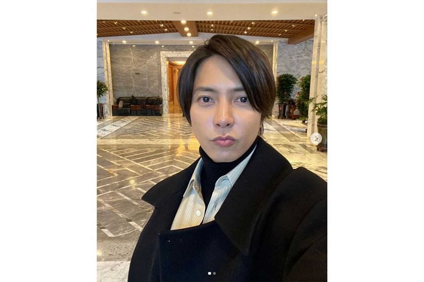 Johnny & Associates, an agency which represents Tomohisa Yamashita (above), says the J-pop star was not aware of the girls' real age as they were introduced to him by other friends at a club.