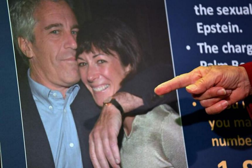 Ghislaine Maxwell (right) is facing sex-trafficking charges of underage girls tied to her former boyfriend Jeffrey Epstein.