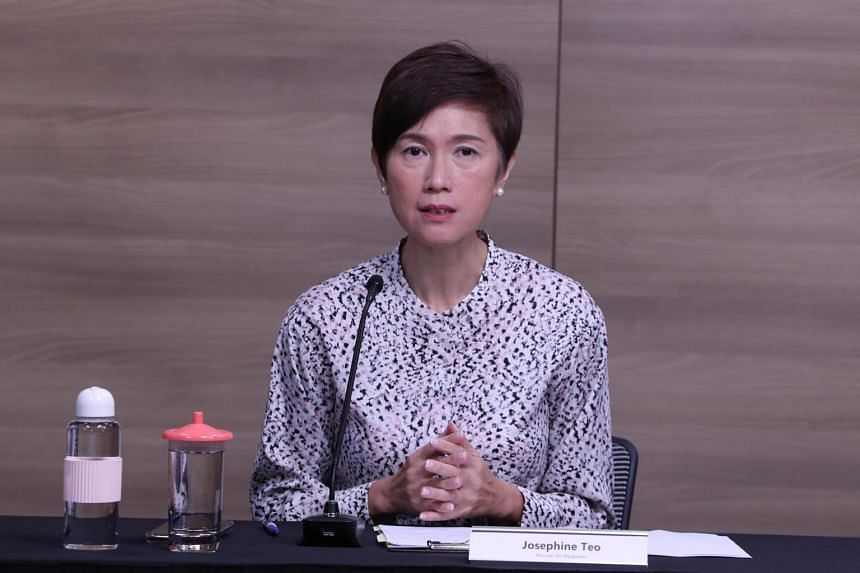 Manpower Minister Josephine Teo said about half of these jobs are government-funded, heavily subsidised traineeship and attachment opportunities.