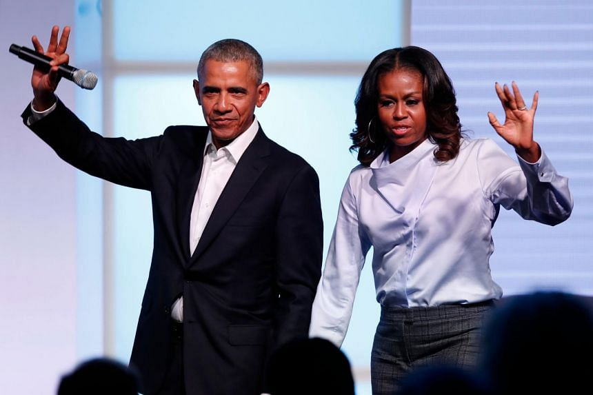 Former US president Barack Obama and his wife Michelle will deliver keynote speeches during the event.