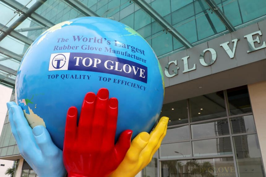 Top Glove hires about 12,000 foreign workers in total.