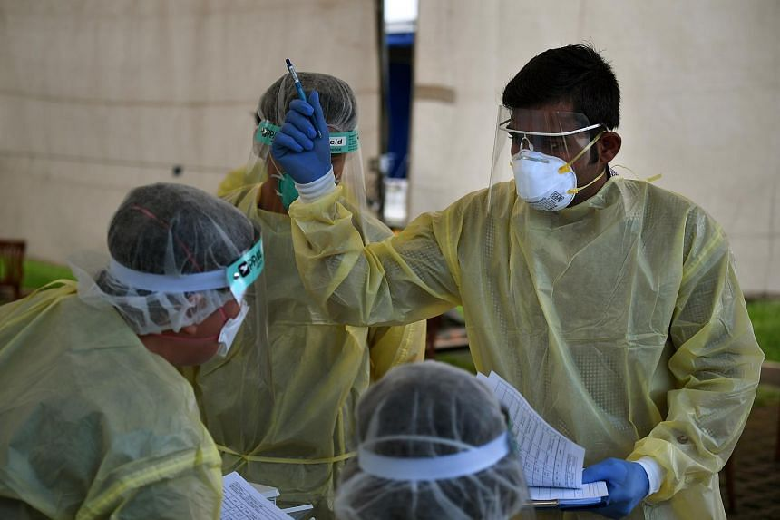 There are currently about 22,800 workers who are still serving out their quarantine period. They will be tested when their quarantine ends.