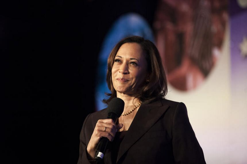 Kamala Harris is now seeking to become the first female vice-president of the United States.