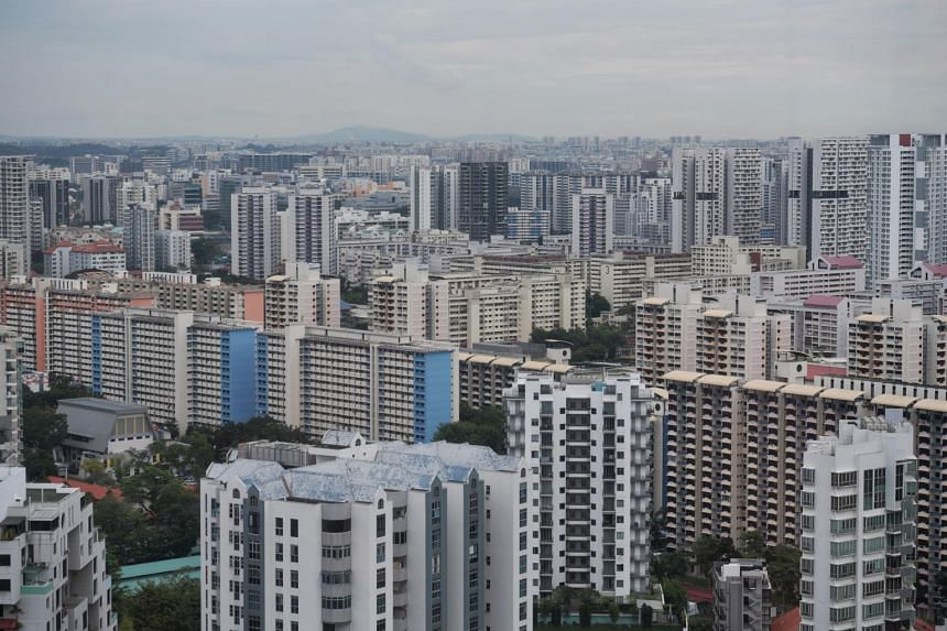 Rental volume shrank for both the private and HDB resale markets in July.