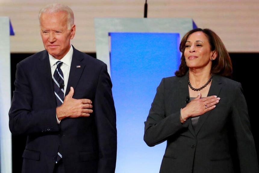 Indian's have hailed US presidential nominee Joe Biden's pick of Senator Kamala Harris as his running mate. Ms Harris was born to an Indian mother.