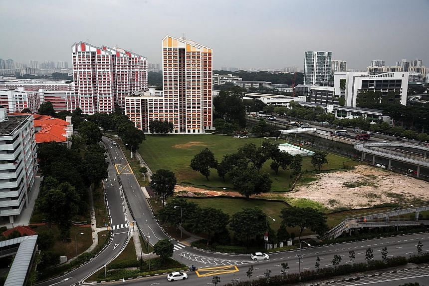 The 472 new units in Bishan Towers will have a view of the Kallang River. The Build-To-Order units are among the 7,862 new flats across eight estates launched for sale by the Housing Board yesterday.