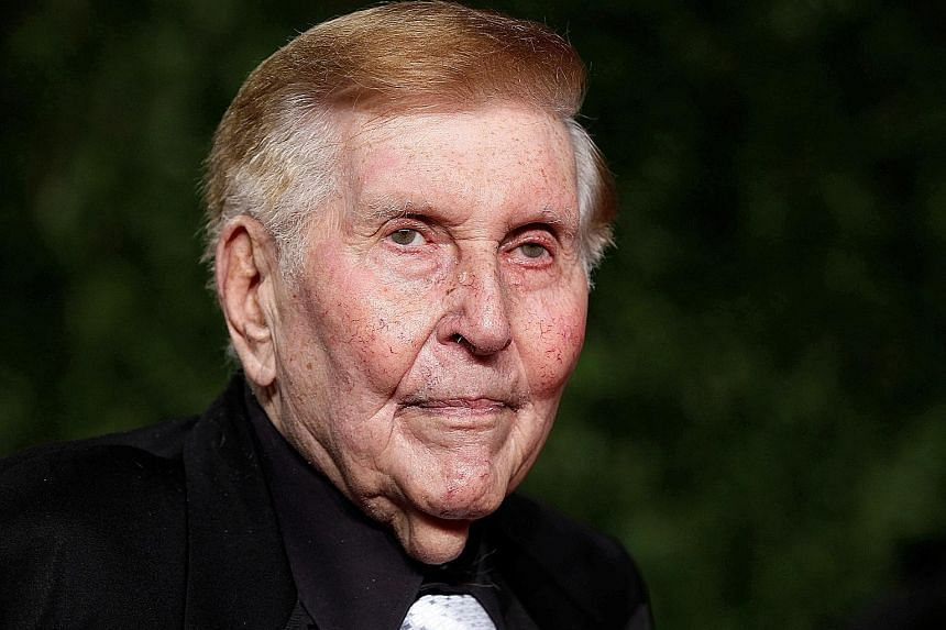 Mr Sumner Redstone was one of the media executives who changed the world of news and entertainment.