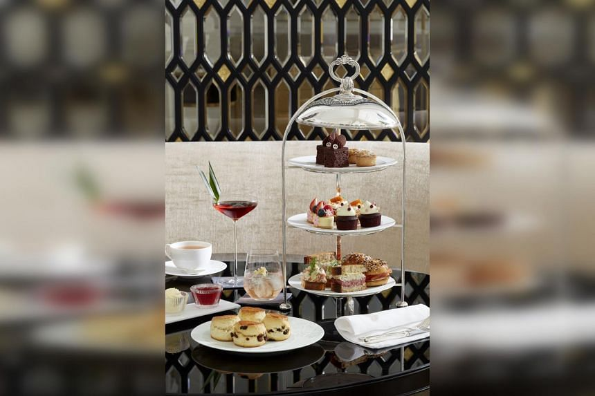 A new luxurious afternoon tea experience at the Raffles Hotel Singapore.