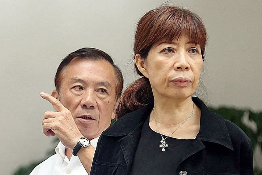 Singaporeans Teo Chu Ha and Judy Teo Suya Bik conspired to secure tenders for two companies in China in exchange for bribes. ST PHOTO: WONG KWAI CHOW