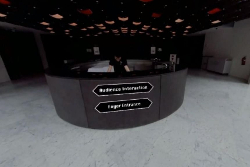 The technology uses 360-degree cameras with virtual reality and augmented reality functions.