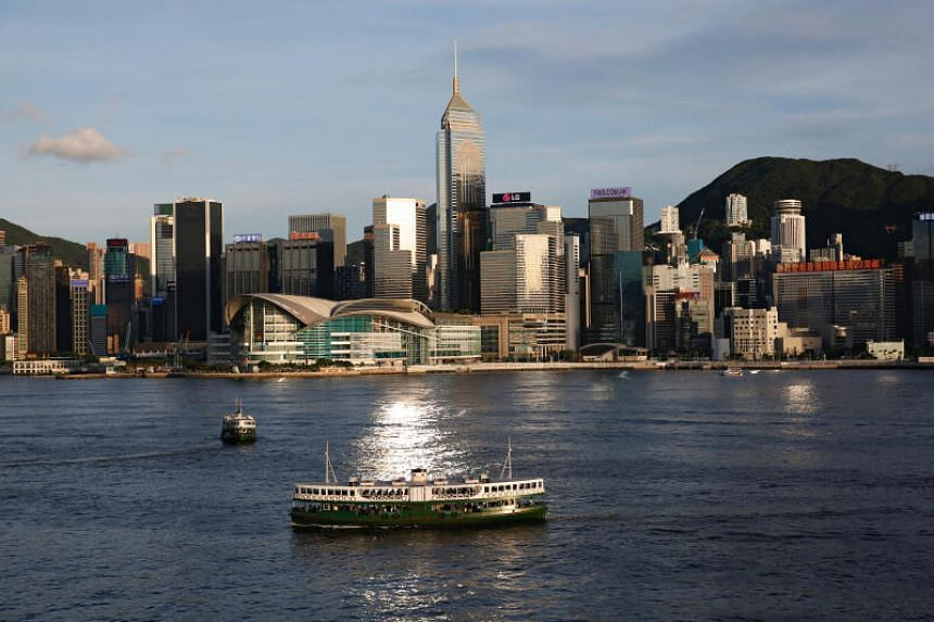 A view of Victoria Harbour in Hong Kong, on June 29, 2020.