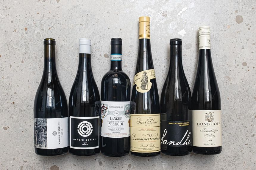 Jane Lopes' selection includes a Riesling, Pinot Blanc, Chardonnay, Tannat, Nebbiolo and Granache.