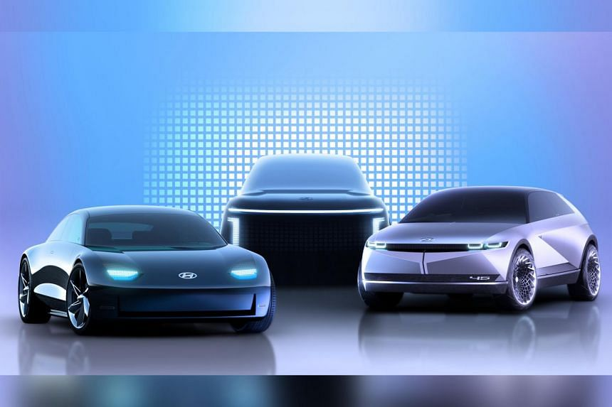 Hyundai will launch a range of numerically named EVs under the Ioniq brand name.
