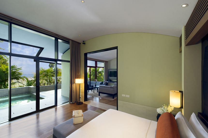 Capella Singapore is the closest one can get to the luxe resorts of Bali.