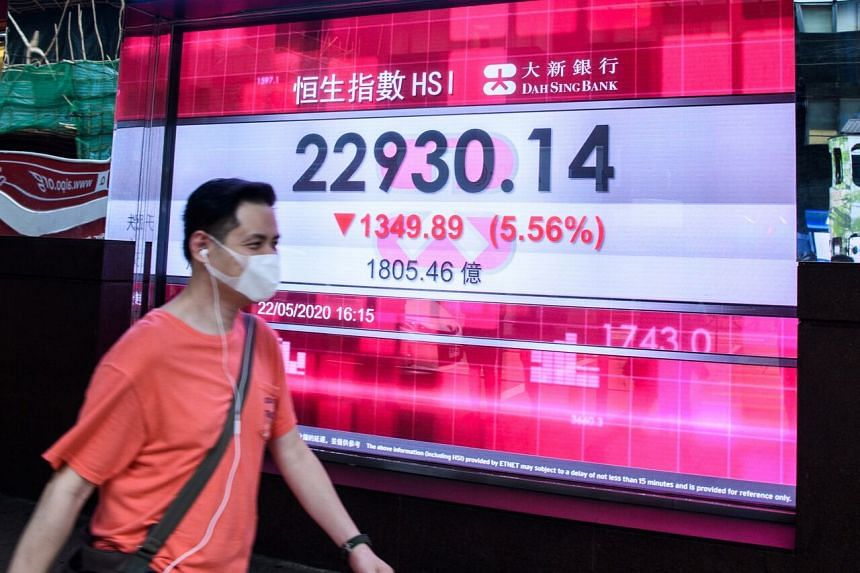 The Hang Seng Index is down 11 per cent for the year.