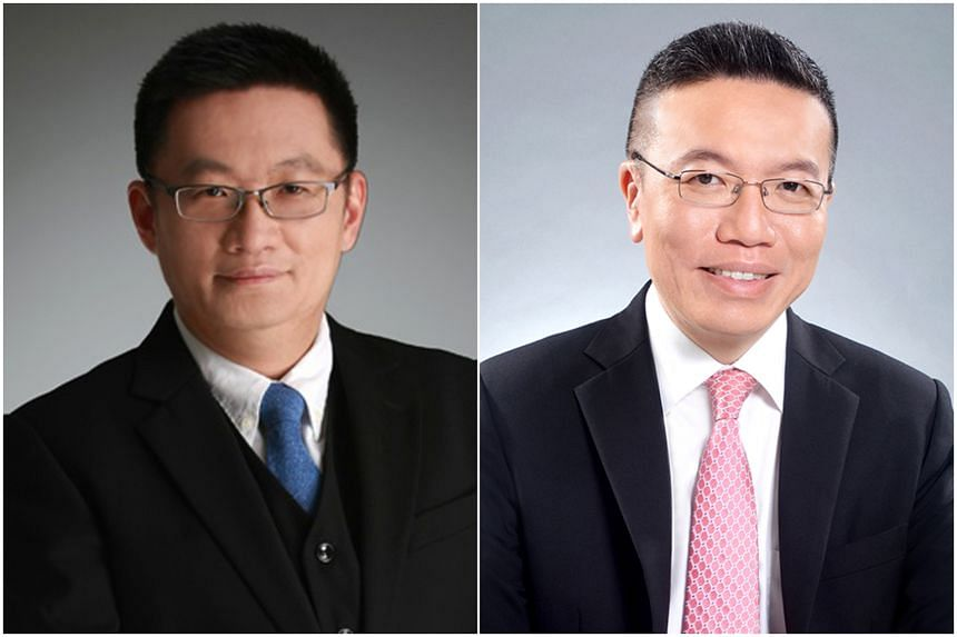 Straits Times invest editor Tan Ooi Boon (left) and SingCapital chief executive Alfred Chia will headline the first askST@NLB talk.