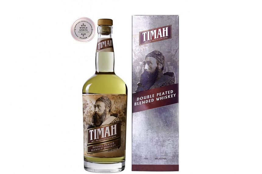 Malaysian-produced whiskey Timah